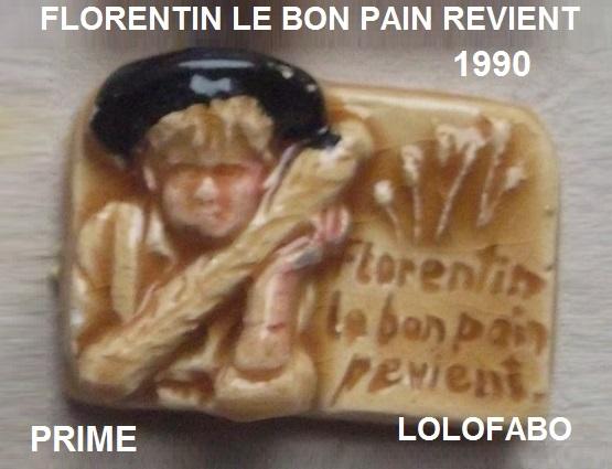 1990 florentin le bon pain revient prime