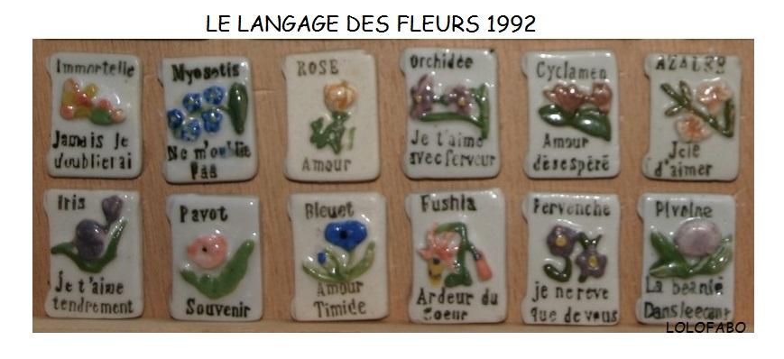 1992 LE LANGAGE DES FLEURS