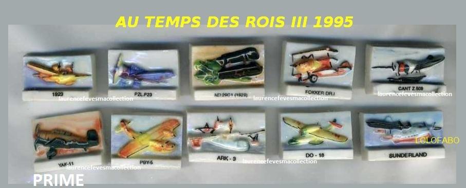 1995 dv270 x au temps des rois iii aff95 p67 avions relief prime