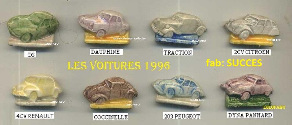 1996 les voitures aff96p71 succes copie
