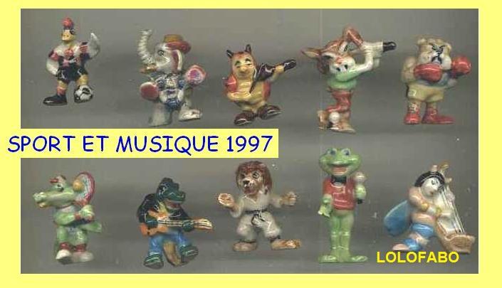 1997 sport et musique sujets de paques aff97p82