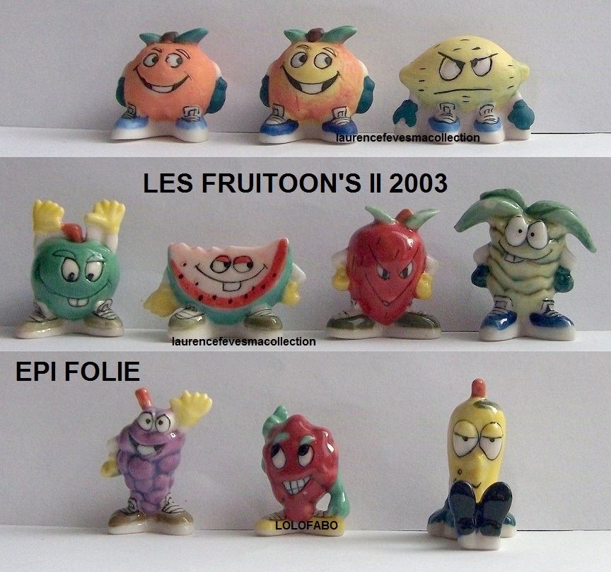 2003p67 dv806 x les fruitoon s fruits aff03p67