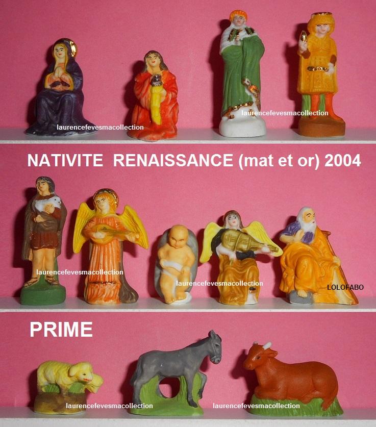 2004p100 cs328 nativite renaissance mat et or prime 2004