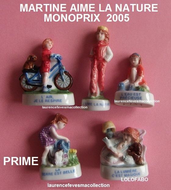 2005p131 monoprix bd813 martine aime la nature 05p131 monoprix
