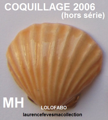 2006 an600 les coquillages mh 06p71 hors serie