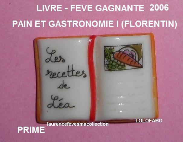 2006p111 dv1475 x pains et gastronomie cuisine 06p111 feve gagnante les recettes de lea livre