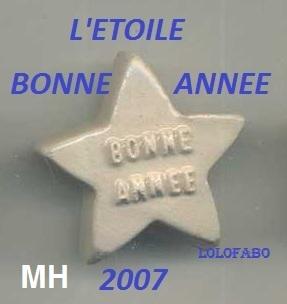 2007 mh pp1325 x l etoile bonne annee mh 07p83 2