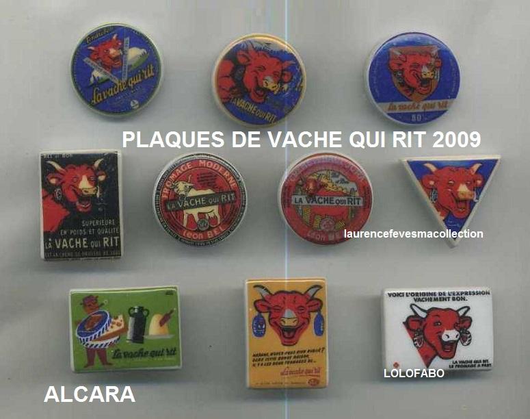 2009p10 pp1376 x la vache qui rit plaques vintage 09p10