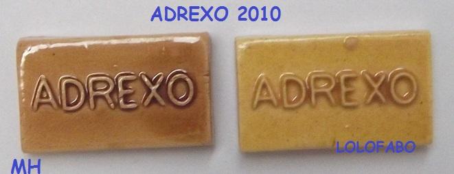 2010 mh pp1435 x adrexo 2010 sur le livre 2011p90 mh miel clair et fonce