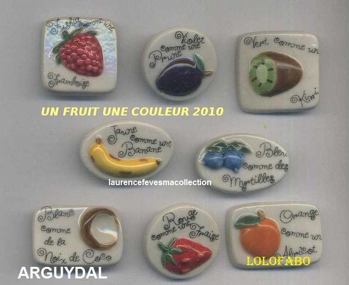 2010p41 dv1854 x un fruit une couleur fruits 2010p41