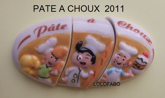 2011 PATE A CHOUX PUZZLE OVAL 2011