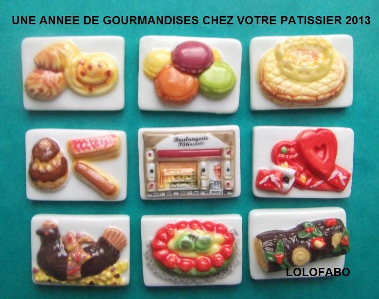 2013 p1513 x une annee de gourmandises chez votre patissier puzzle relief boulangerie 2013p68