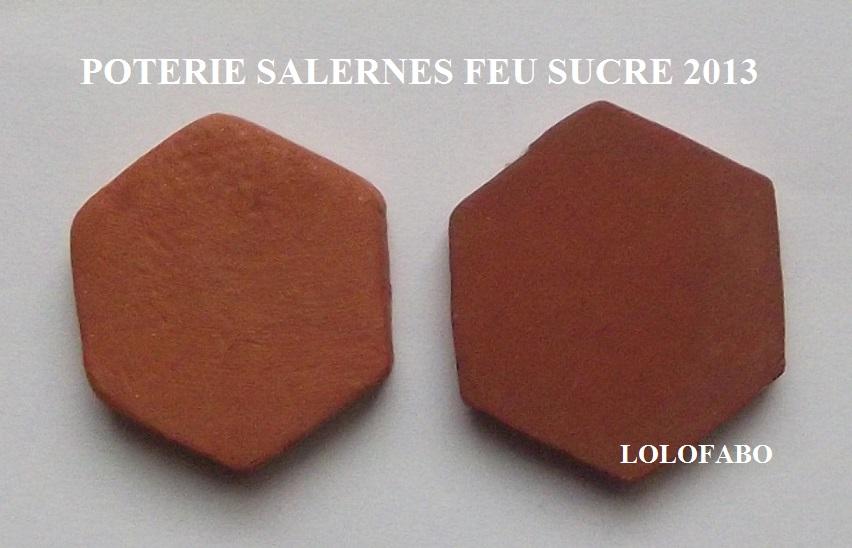 2013 LA POTERIE - SALERNES  TOMETTES