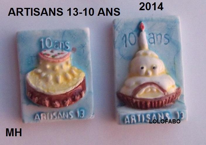 2014 artisans 13 10 ans mh