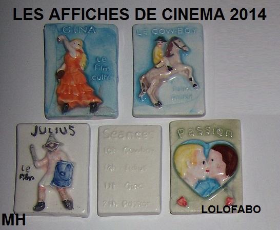 2014 les affiches de cinema mh