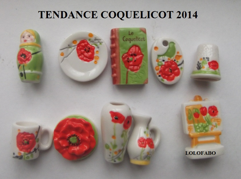 2014 TENDANCE COQUELICOT