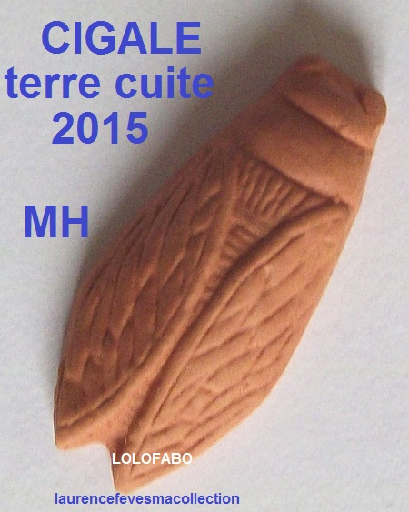 2015 cigale terre cuite 2015 mh
