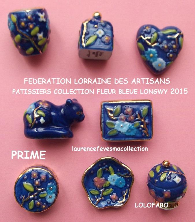 2015p119 federation lorraine des artisns patissiers collection fleur bleue longwy prime