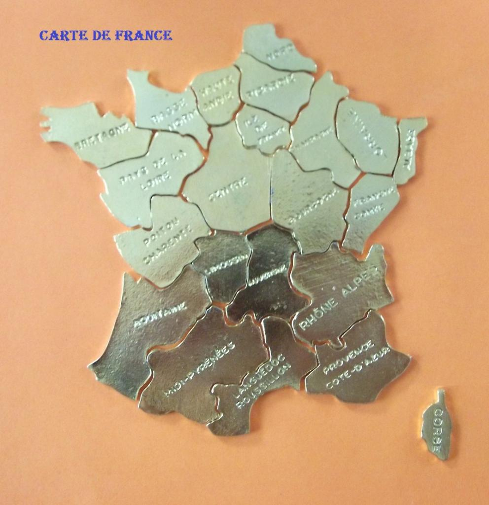 Aluminum Brass Working France: PUZZLES