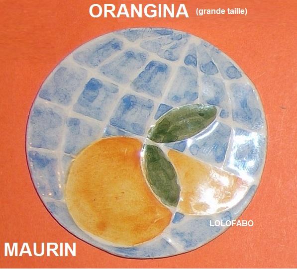 Grosse feve ronde fruit orangina maurin