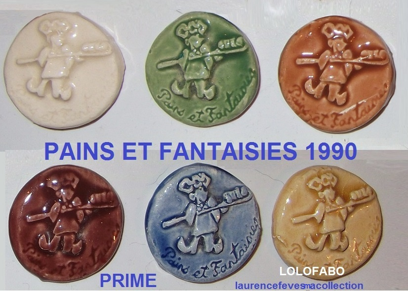 Pains et fantaisies prime 1991